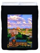 Memphis Church Duvet Cover