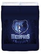 Memphis Grizzlies Barn Door Duvet Cover