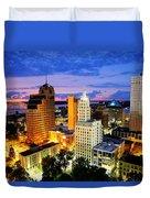 Memphis, Tennessee Duvet Cover