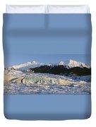 Mendenhall Glacier Duvet Cover