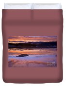 Mendenhall Sunset Duvet Cover