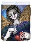 Mender Of Hearts Angel Duvet Cover