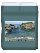 Mendicino County Viewpoint Duvet Cover