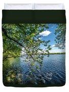 Mendota Lake Duvet Cover