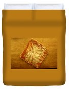 Mention - Tile Duvet Cover