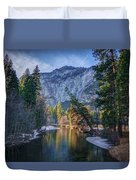 Merced Reflection Duvet Cover