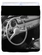Mercedes 300sl Dashboard Duvet Cover