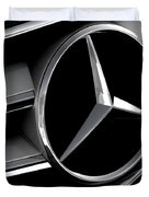 Mercedes Badge Duvet Cover