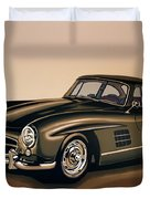 Mercedes Benz 300 Sl 1954 Painting Duvet Cover