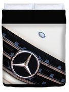 Mercedes-benz Emblem - Grille Logo -0030c Duvet Cover
