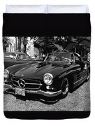 Mercedes Gull Wing Coupe Duvet Cover