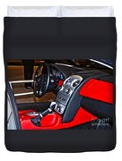 Mercedes Slr Concept Car Interior Duvet Cover