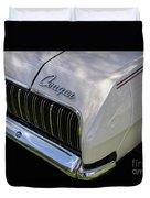Mercury Cougar Xr7 Emblem Duvet Cover