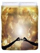 Mercy - Digital Art Duvet Cover