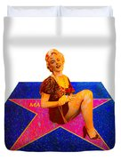 Merilyn Monroe Duvet Cover
