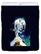 Merlin In The Cosmos Duvet Cover