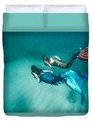 Mermaid Friends Duvet Cover