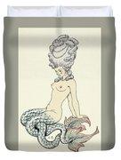 Mermaid, From Les Liaisons Dangereuses  Duvet Cover