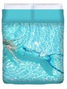 Mermaid Glide Duvet Cover