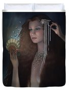 Mermaid Duvet Cover by Jane Whiting Chrzanoska