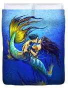 Mermaid Kiss Duvet Cover
