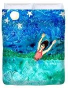 Mermaid Metamorphosis Duvet Cover