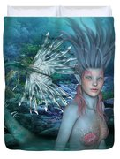Mermaid Of The Deep Sea 2 Duvet Cover