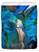 Mermaid Parade Participant Duvet Cover