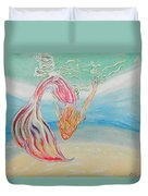 Mermaid Summer Salt Duvet Cover