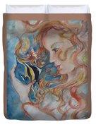 Mermaids Kiss Duvet Cover