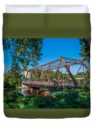 Merriam Street Bridge Duvet Cover