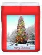 Merry Christmas 2015 Duvet Cover