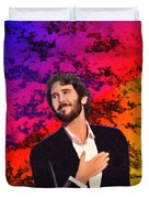 Merry Christmas Josh Groban Duvet Cover