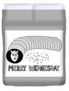 Merry Wednesday Duvet Cover