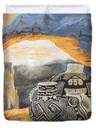 Mesa Arch Magic Duvet Cover