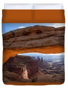 Mesa Arch Morning Glow Duvet Cover