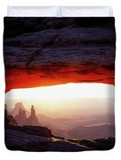 Mesa Arch Sunrise 4 Duvet Cover