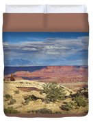 Mesa Arch Vicinity Duvet Cover