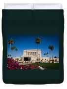 Mesa Temple Petunia Duvet Cover