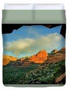 Mescal Mountain 04-012 Duvet Cover