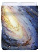 Messier 66 Duvet Cover