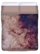 Messier 7 And Messier 6 Star Clusters Duvet Cover