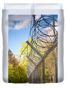 Metal Sharp Barbed Wire Duvet Cover