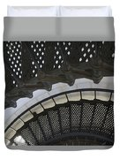 Metal Stair Case Duvet Cover