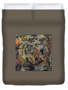 Metallic Abstraction Duvet Cover