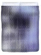 Metallic Weaving Pattern Duvet Cover