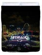 Metallica In Stl Duvet Cover