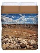 Meteor Crater Duvet Cover