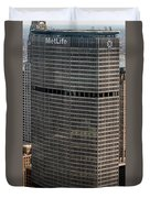 Metlife Building - 200 Park Avenue In Nyc Duvet Cover