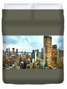 Metro Skyline Duvet Cover